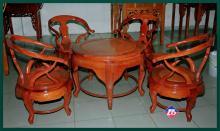 Bàn trà căm xe gỗ hương